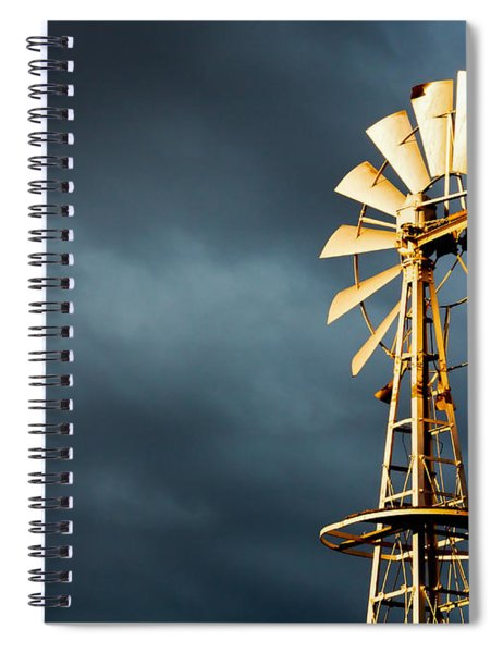 Stormy Skies Spiral Notebook