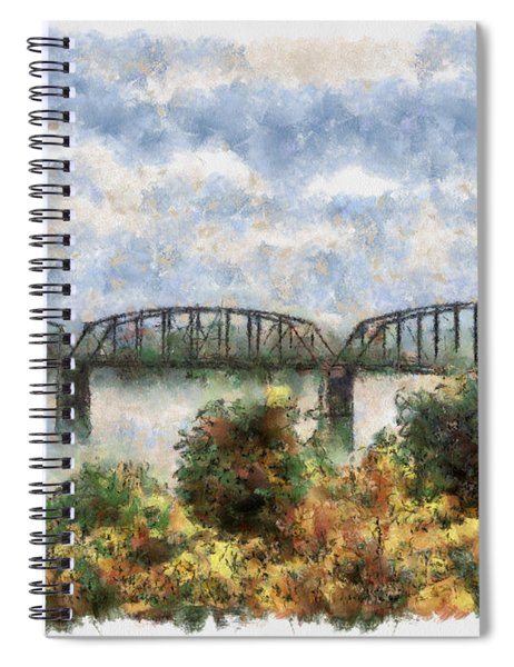 Strang Bridge Spiral Notebook