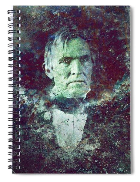 Strange Fellow 2 Spiral Notebook