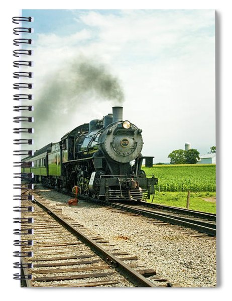 Strasburg Express Spiral Notebook