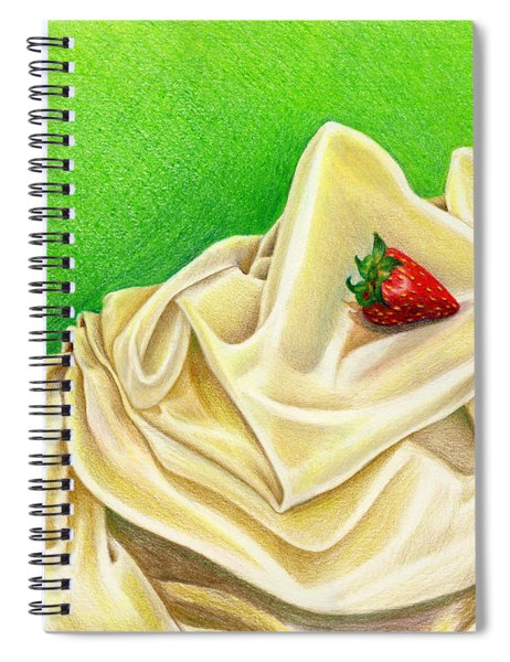 Strawberry Passion Spiral Notebook