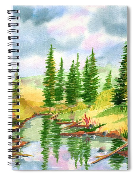 Strawberry Reservoir 2 Spiral Notebook