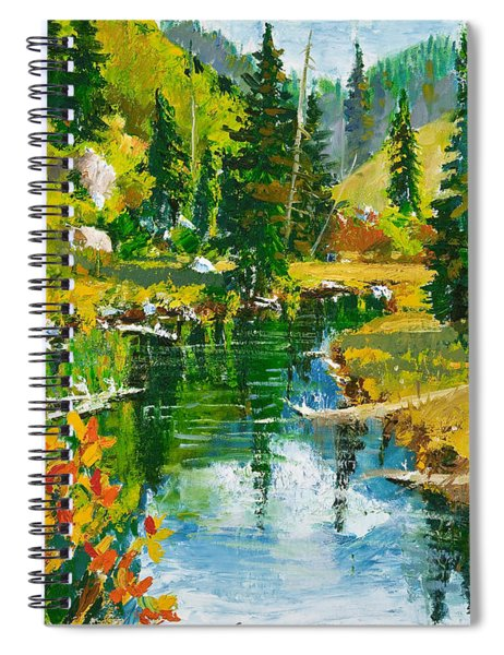 Strawberry Reservoir Spiral Notebook