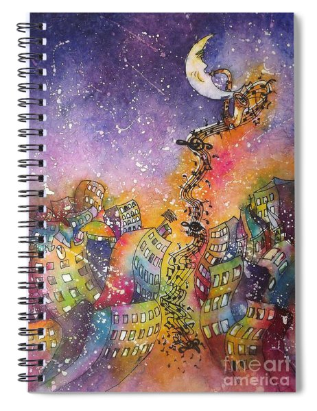 Street Dance Spiral Notebook
