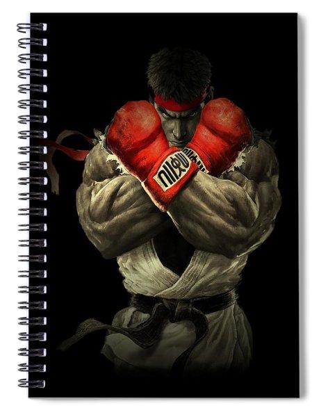 Street Fighter Spiral Notebook