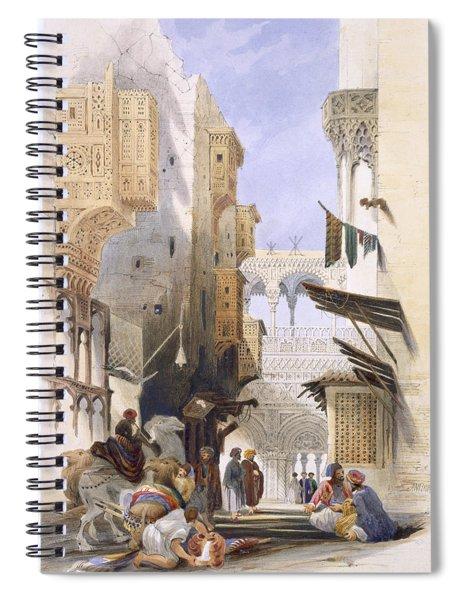 Street Leading To El Azhar, Grand Spiral Notebook
