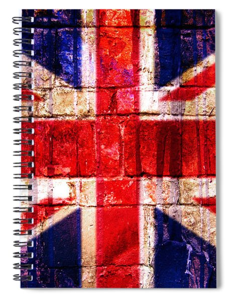 Street Union Jack Spiral Notebook