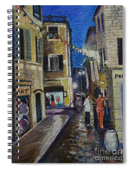 Street View Provence 2 Spiral Notebook