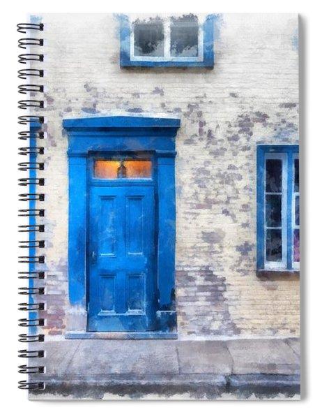 Streets Of Old Quebec 2 Spiral Notebook