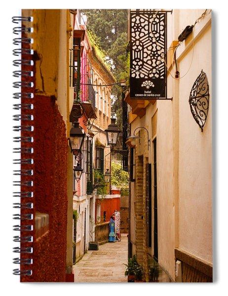 Streets Of Seville  Spiral Notebook