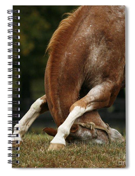 Stretching My Neck Spiral Notebook