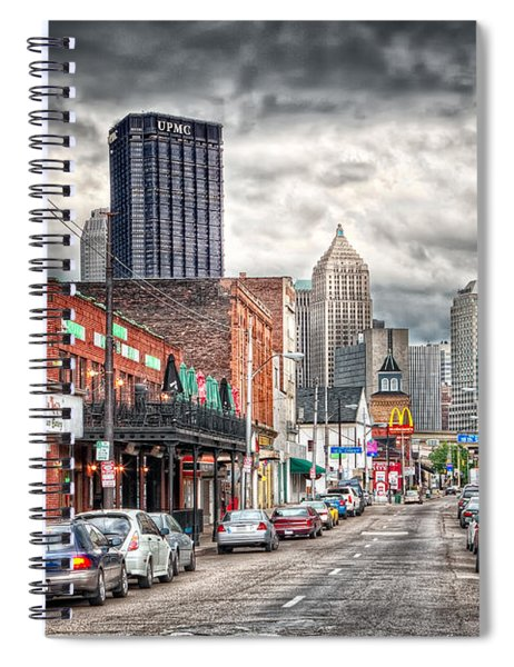 Strip District Pittsburgh Spiral Notebook