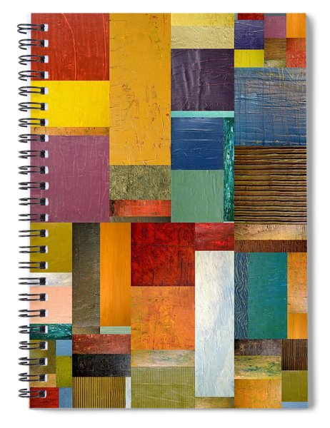 Strips And Pieces Ll Spiral Notebook