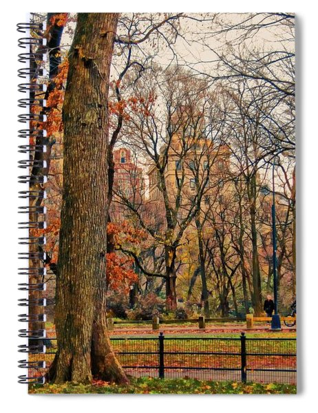 Stroll In The Park Spiral Notebook