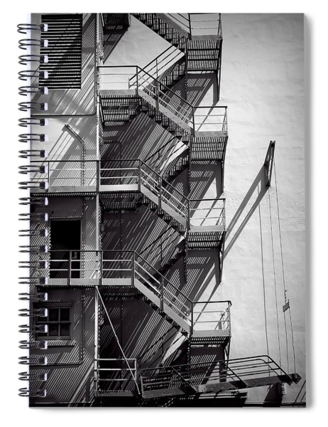 Study Of Lines And Shadows Spiral Notebook