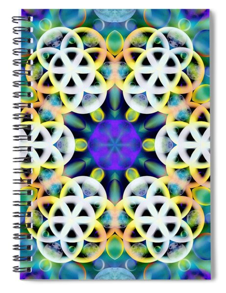 Subatomic Orbit Spiral Notebook