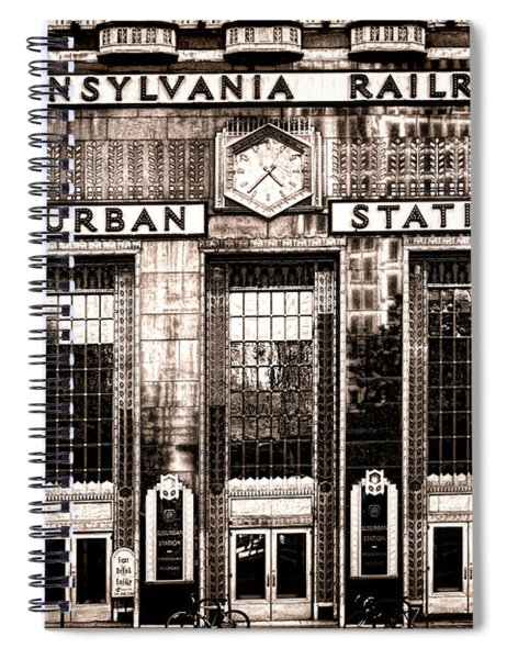 Suburban Station Spiral Notebook