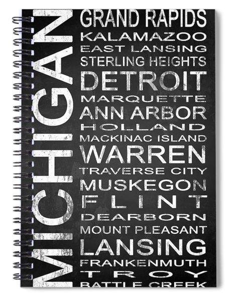 Subway Michigan State 1 Spiral Notebook