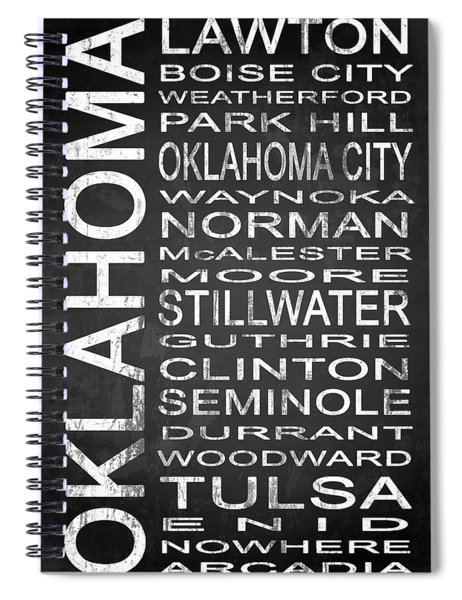 Subway Oklahoma State 1 Spiral Notebook