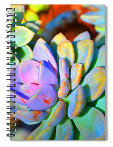 Succulent Color - Botanical Art By Sharon Cummings Spiral Notebook