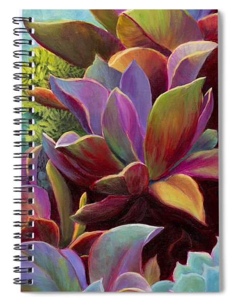 Succulent Jewels Spiral Notebook