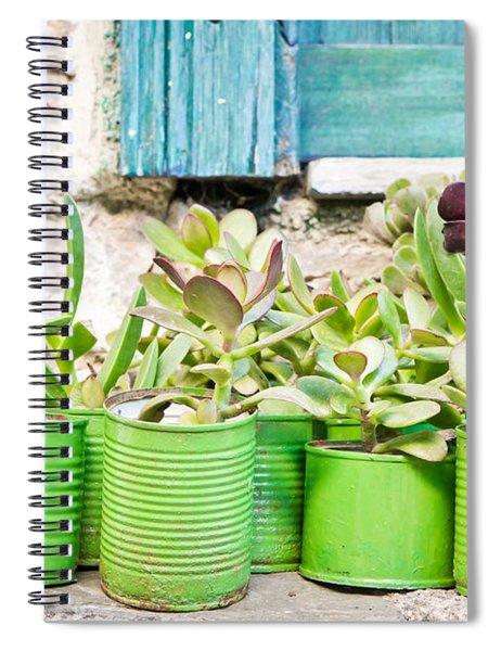 Succulent Plants Spiral Notebook