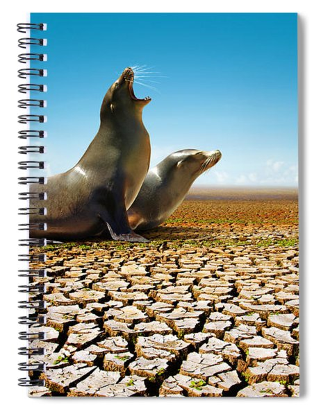 Suffering Seals Spiral Notebook