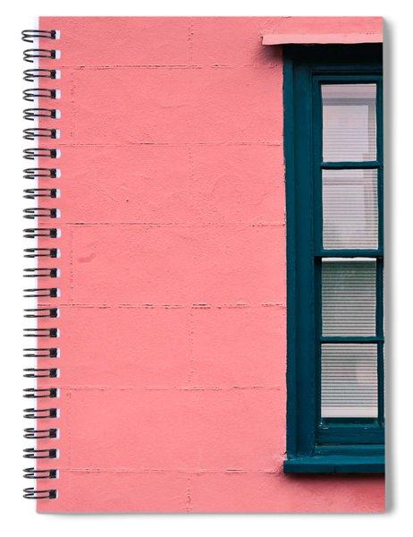 Suffolk Pink Spiral Notebook