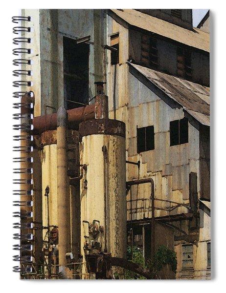 Sugar Factory Spiral Notebook