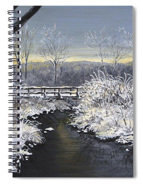 Sugared Sunrise Spiral Notebook
