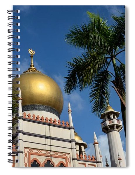 Sultan Masjid Mosque Singapore Spiral Notebook