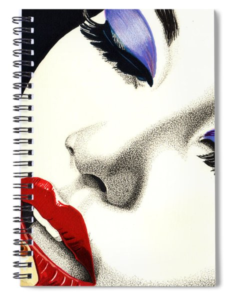 Sultry Sound Spiral Notebook