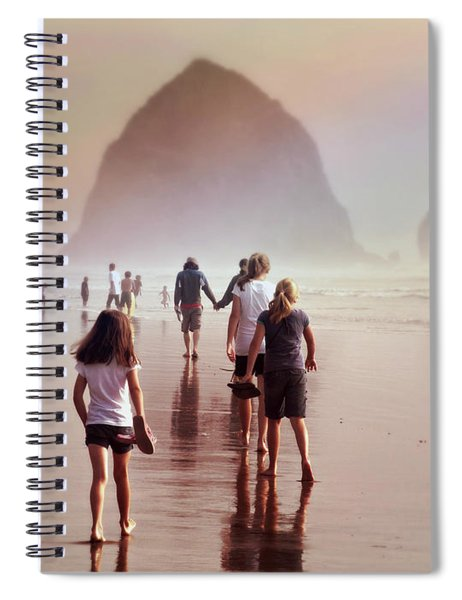 Summer At The Seashore  Spiral Notebook