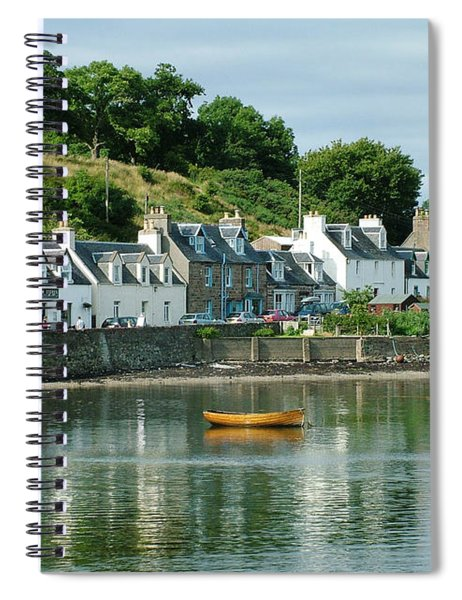 Summer Day - Plockton Spiral Notebook