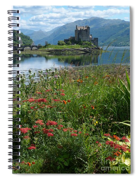 Eilean Donan Castle In Summer Spiral Notebook