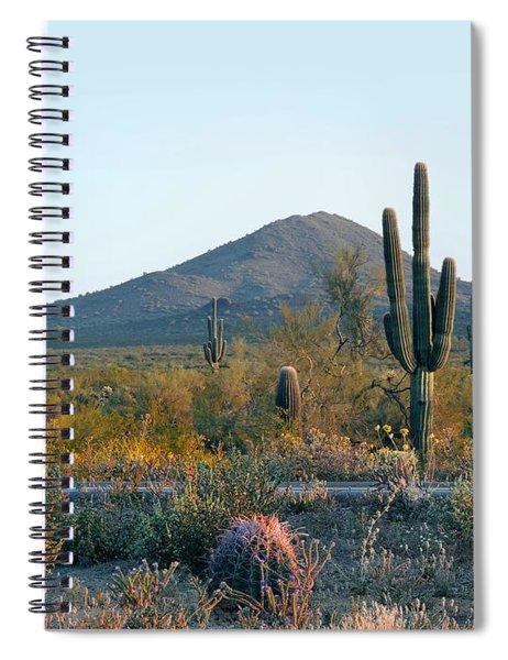 Summer Eve Spiral Notebook