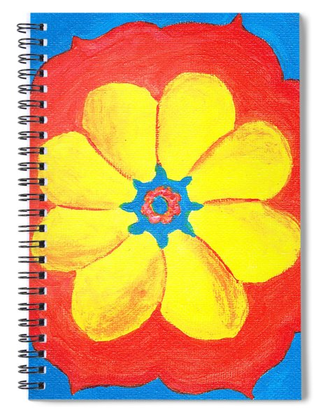 Summer Mandala Spiral Notebook