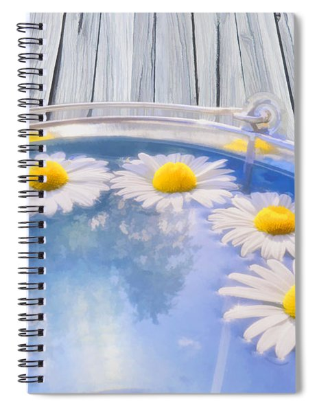 Summer Memories Spiral Notebook