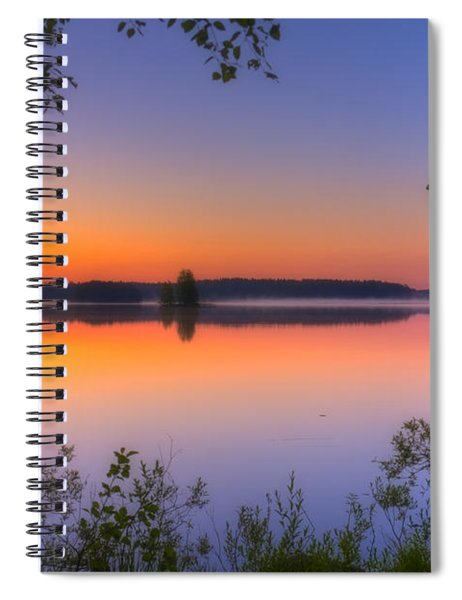 Summer Morning At 02.05 Spiral Notebook