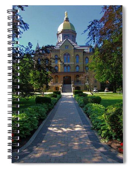 Summer On Notre Dame Campus Spiral Notebook
