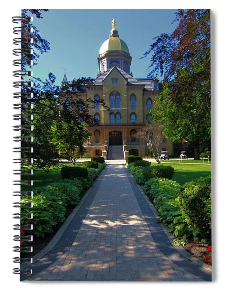 Summer On Notre Dame Campus Spiral Notebook