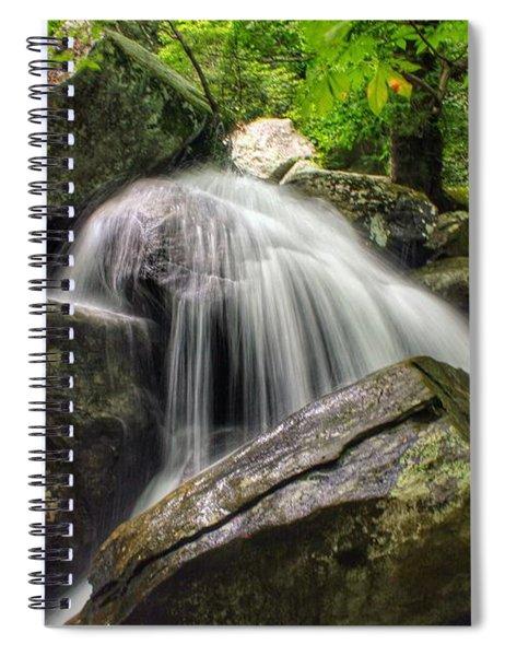 Summer On The Rocks Spiral Notebook