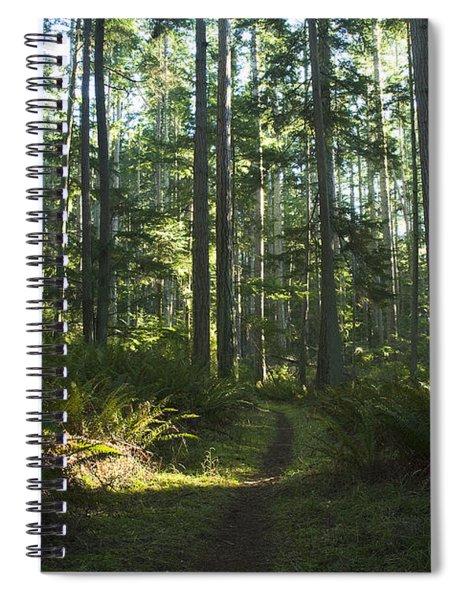 Summer Pacific Northwest Forest Spiral Notebook
