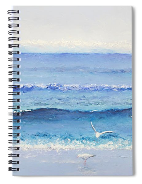 Summer Seascape Spiral Notebook