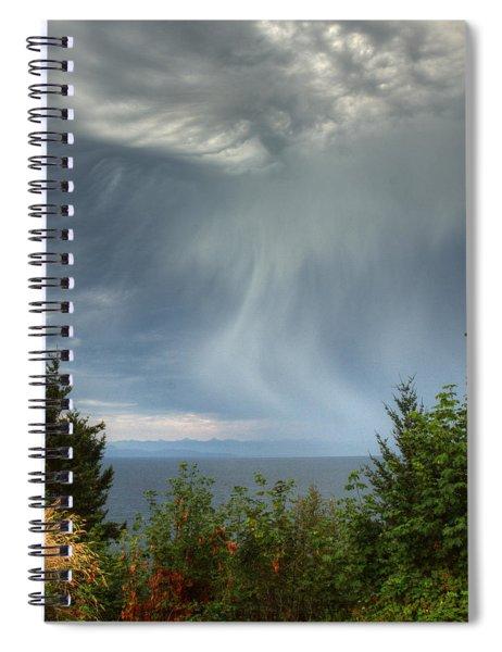 Summer Squall Spiral Notebook