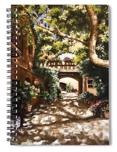 Summer Sun Spiral Notebook