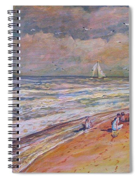 Summer Vacations Spiral Notebook