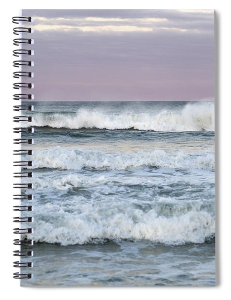 Summer Waves Seaside New Jersey Spiral Notebook