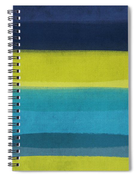 Sun And Surf Spiral Notebook by Linda Woods