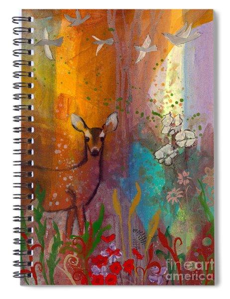 Sun Deer Spiral Notebook